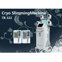 4 Handles Cryolipolysis Fat Freezing Cellulite Treatment Machine Non Surgical Manufactures