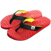 Men's Rubber Casual Canvas Tape Flat Flip Flop Slippers Manufactures