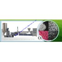 China Cold Strand Cutting Plastic Pelletizing Machine for Polypropylene Polystyrene Materials on sale