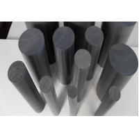 Low Friction Coefficient black UHMWPE plastic solid Rod 1000mm length or custom Manufactures