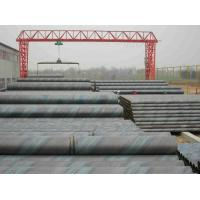 Hot Dipped Galvanized Spiral Welded Steel Pipe For Water Supply , Larger Diameter 219.1mm - 3340mm Manufactures
