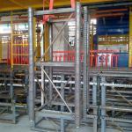 GJJ Building Hoist Spare Parts 1.508m Mast Sections Factory Price Manufactures