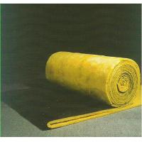 Sound Absorption Glass Wool Blanket / Felt Roll Faced With Black Glass Tissue Manufactures