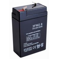 Buildings safty fire alarms Emergency Lights FM Battery Replacement (6v 2.8ah) Manufactures