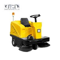 China C200 Battery Type Sweeper Truck For Outside Garden Public Road Leaves Rubbish Collecting on sale