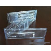 China good quality plastic PVC clear double clamshell  packaging in customized size wholesale from China for sale