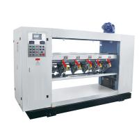 Semi Automatic Corrugated Slitter Machine , Carton Cutting Machine With Thin Blade Manufactures
