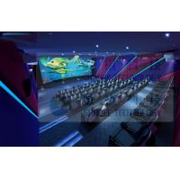 3.75KW 5D Movie Theater For Fun Ride Roller Coaster Simulator Commercial Amusement Park Manufactures