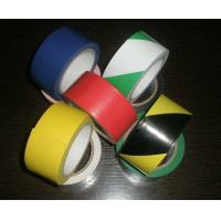 Polyvinyl And Rubber Adhesive Pvc Warning Tape For Building Or Traffic Protection Manufactures