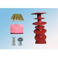 66KV Ball And Socket Polymer Suspension Insulators / Electric Line Insulators Manufactures