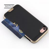 High Rigid Plastic PC Protective Mobile Phone Cases With Card Holder for iPhone X Manufactures