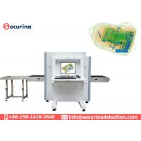 Dual Energy X Ray Baggage Scanner Machine Display Color Scanning Image SA6550 Manufactures