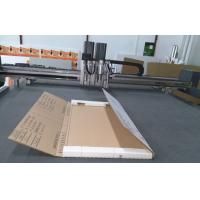 carton sample making cnc cutting table production making machine