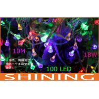 100pcs Energy Saving 18 Watt RGB LED String Lights , Outdoor Christmas Lights Manufactures
