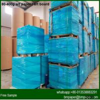 China Recycled white top coated kraft paper on sale