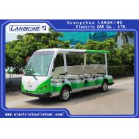4 Wheel Electric Sightseeing Car , 11 Seats Electric Passenger Vehicle With small cargo 72V/7.5KW AC MOTOR Manufactures