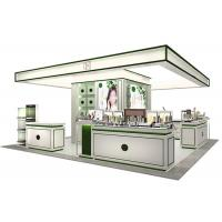 Elegant Style Retail Display Cases Wooden Frame With Tempered Glass Manufactures