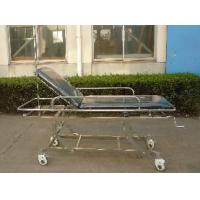 Foldable Patient Transport Trolley , Disabled Emergency Trolley Manufactures