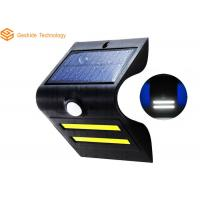 Hanging Solar Powered Motion Activated Security Lights , Wall Mounted Solar Led Lights Blue Color