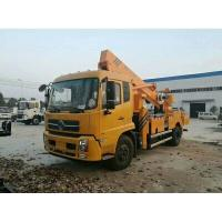Quality DONGFENG Hydraulic Platform Truck , Vehicle Mounted Work Platforms 360°Slewing Angle for sale