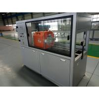 Water Supply PVC Pipe Extrusion Line , Siemens PLC PVC Pipe Production Machine Manufactures