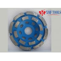 Double Row Up 9  4.5  4 Inch Concrete Grinding Wheel  For Angle Grinder  Blue Manufactures