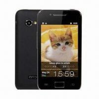A5830 Dual Cards Cheapest MTK6573 3G Capacitive Touch Screen 3.5-inch Android 2.3.5 Cell Phone Manufactures