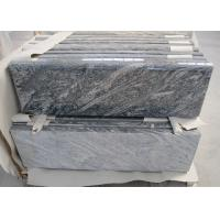 Juparana Black Granite Stone Tiles For Tombstone High Density 2800kg/M3 Manufactures