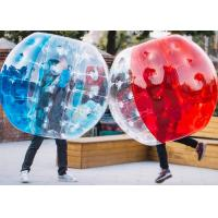 China 1.2m, 1.5m, 1.8m PVC And TPU Human Size Inflatable Bubble Soccer / Football Bumper Ball on sale