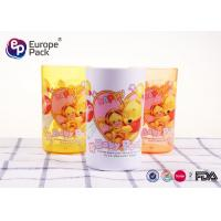 Break Resistant Plastic Childrens Mugs Without Holder 270Ml Round Shape Manufactures