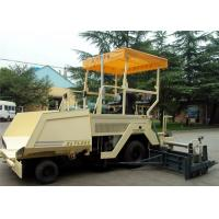 6m Wheel Drive Asphalt Paver Machine 2LTLZ60 With Deutz Diesel Engine CE / SGS Manufactures