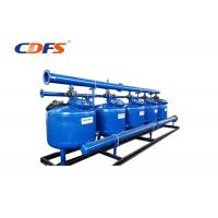 2 - 8 Bar Pressure 24 Inch Sand Filter , PLC Control Stainless Steel Filter Manufactures
