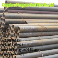 ASTM A53 /A 106 carbon Cold drawn/hot rolled seamless steel pipe Manufactures