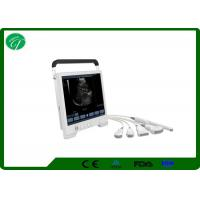 China Notebook Laptop Ultrasound Scanner Wide - Angle 15 Inch Screen Portable Ultrasound Machine on sale