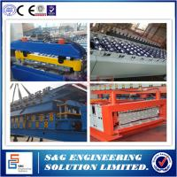 China Anti - rust Double Layer Roll Forming Machine With 18 Groups Stations on sale