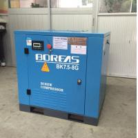 7.5KW 10HP dircect driven 116psi 42cfm low noise air cooling screw air compressor Manufactures