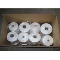 100% Raw White /Dyed Spun Polyester Yarn 20-60s For Sewing Thread Manufactures