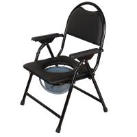 China china supplier human disabled folding toilet commode wheel chair for elderly on sale