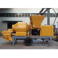 Lightweight Concrete Mixer Pump With Mixer Electric Motor Double Shaft Type Manufactures