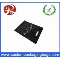 Shopping Custom Die Cut Handle Plastic Bags Recyclable Logo Printing Manufactures