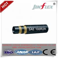 China JINFLEX Double Wire  Braided Hydraulic Hose SAE 100R2A on sale