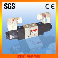 RIH 2/5 way VFserise double coil Pneumatic solenoid Valve 1/4'' Manufactures