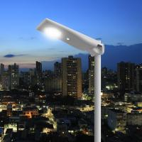 Motion Sensor Solar Panel Street Lights Outdoor Remote Control 3 Years Warranty Manufactures
