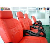 Business Center 5D Cinema Equipment With Safety Chair / Push Back Function Manufactures