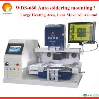 WDS-660 New high vision automatic bga machine,laptop motherboard rework station with optical alignment Manufactures
