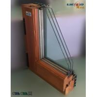 High grade Three layers glass Aluminium Window Profiles in apartment building Manufactures