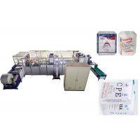 Fully Automatic PP Valve Bag Making Machine , Block Bottom Sack Conversion Line Manufactures