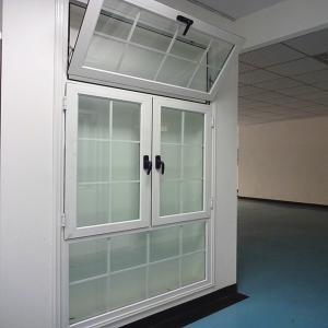 Double clear glass  aluminium casement window Manufactures