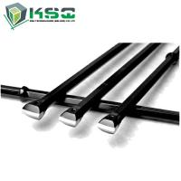 High Strength Alloy Steel Integral Drill Rod For Small Hole Rock Drilling H19 Shank 19 x 108mm Manufactures