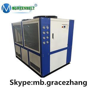 China Mgreenbelt recirculating air cooled type air cooled liquid chiller air cooled chiller on sale